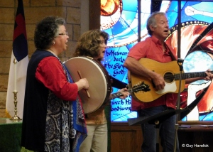 Vespers church service, July 5, 2015, Rochester, MN