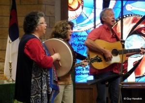 Vespers church service, July 5, 2015, Rochester, MN