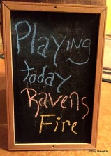 RavensFire at Studio 5, Rochester MN, next door to Post Town Winery
