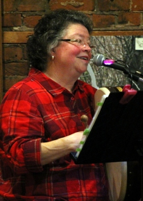 Judy at the Acoustic, Winona MN, December 2015