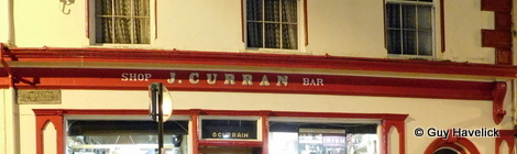 J Curran pub in Dingle, Ireland