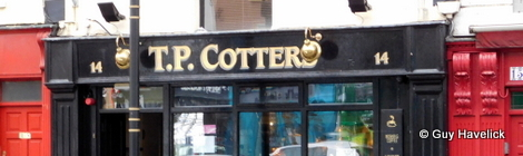 T.P. Cotter's pub in Macroom, Ireland