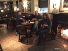 RavensFire's last night in Ireland at T. P. Cotters in Macroom. The fire is just as warm as the welcome.