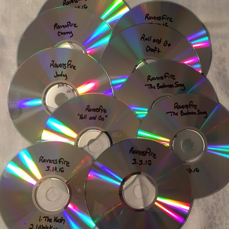 RavensFire Scratch CDs