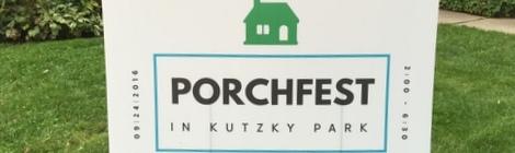 Rochester MN, Kutzky Park, Porchfest 2016