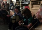 Two girls from Germany enjoyed our music at Curran's pub.